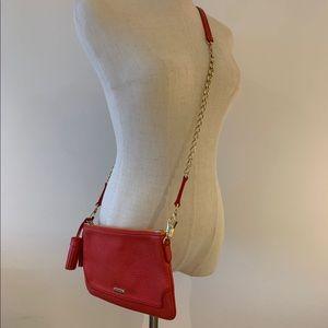 Burberry London Leather Tassel Clutch Bag